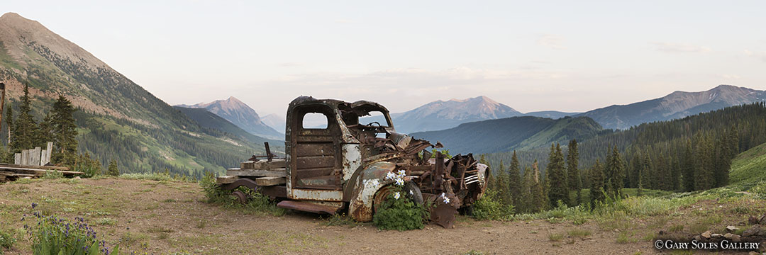 Crested Butte Truck Pano