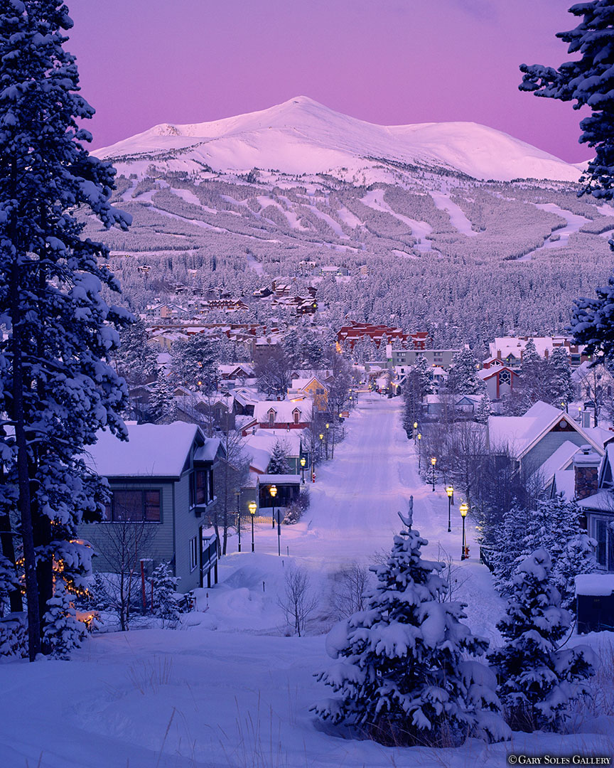 Breck Winter Morning