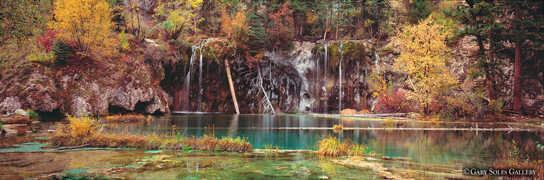 Hanging Lake Fall Pano