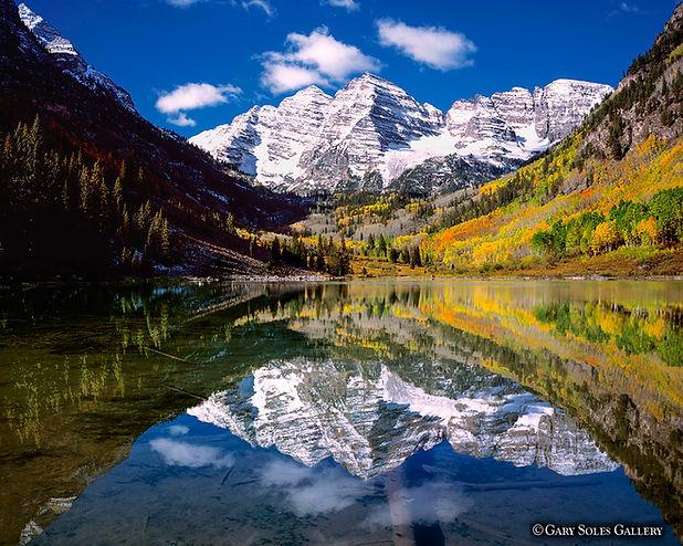 Stellar Bells, maroon bells, reflection, aspen, colorado fall, aspen fall color