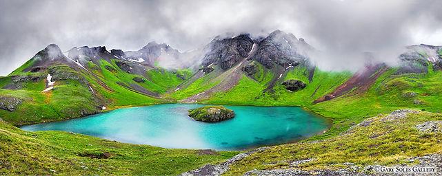 Utopic Tarn 2,san juans, island lake, colorado summer, ice lake basin