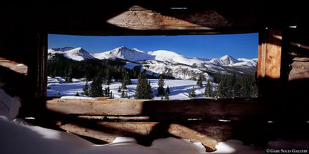 window to boreas, boreas pass, winter, mount quandary, 14er, gary soles, gary soles gallery, breckenridge, colorado