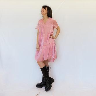 The Korner -Baby dress pink