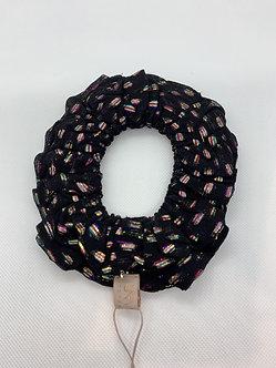 Unmade-Felone scrunchie black