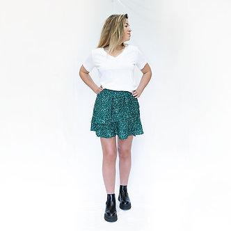 The Korner - green short
