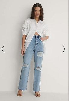 NA-KD - Destroyed jeans