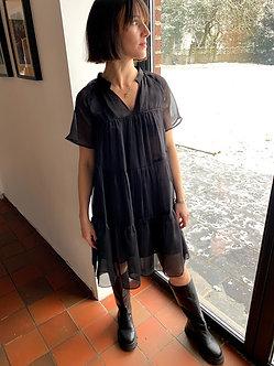 The Korner -Baby dress Black