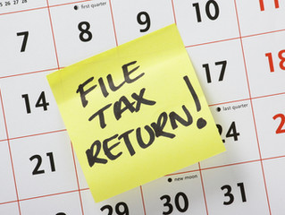 There is just over a month to file your tax return online!