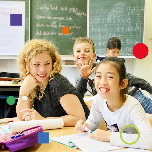 Mathe- und Deutschlernzeiten