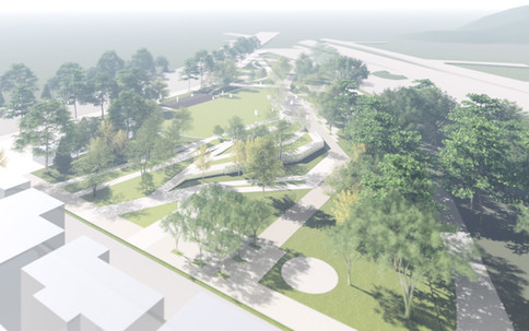 Gunsan New Station Area Park