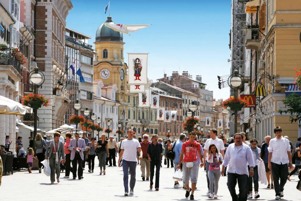 Korzo - Rijeka - Croatia