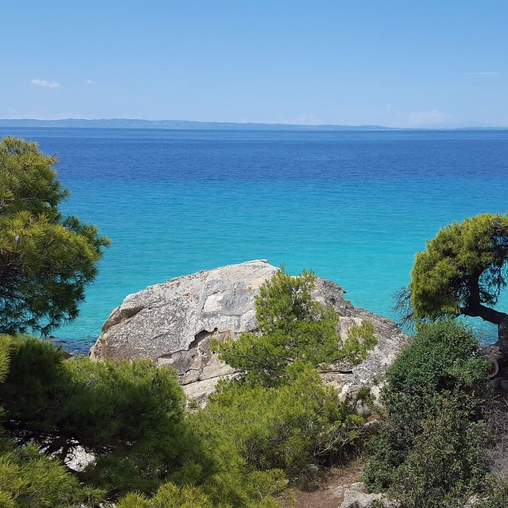 Views to die for - Neos Marmaras - Greece