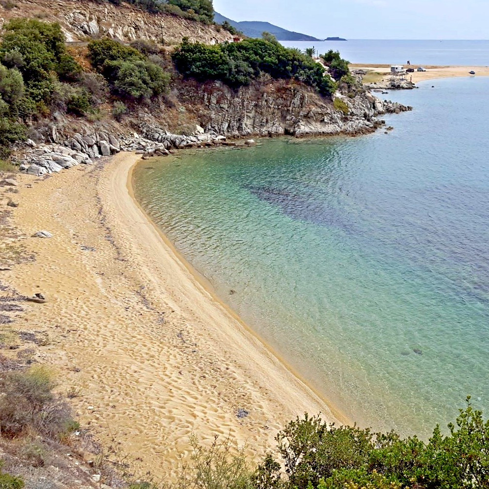 Gorgeous beach all to ourselves - Neos Marmaras - Greece