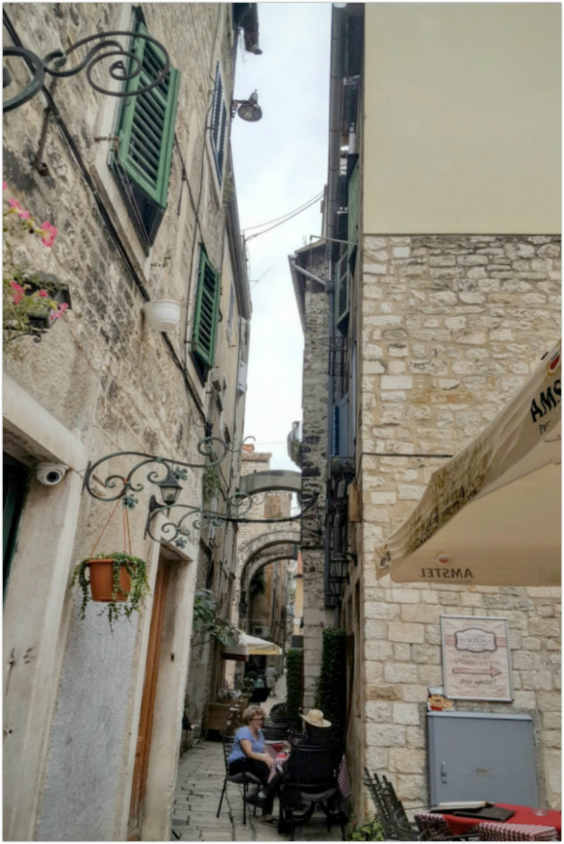 Meandering alleyway - Split - Croatia