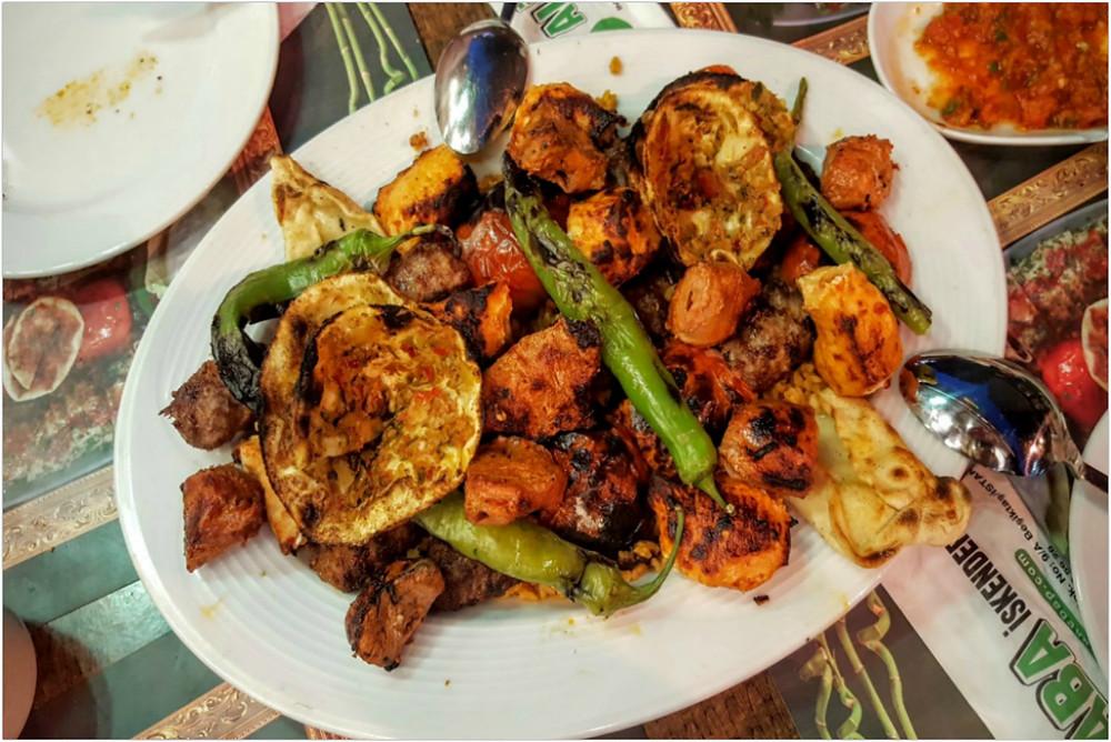 Traditional meat dish during Ramadan Feast - Istanbul - Turkey