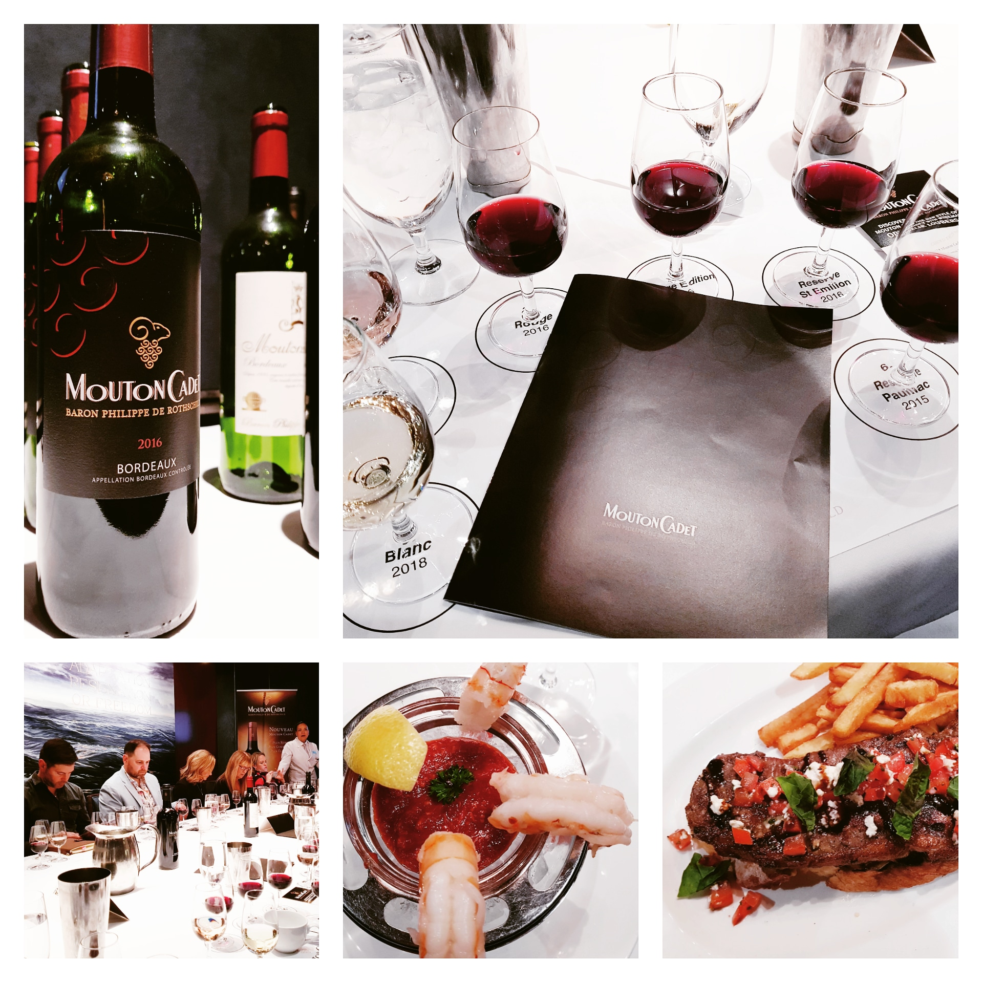 Mouton Cadet Wine & Food Pairing