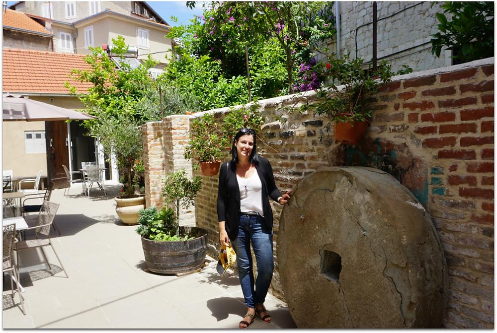 Me [Cora] in Split - Croatia [Photo courtesy of B. Ketcheson]