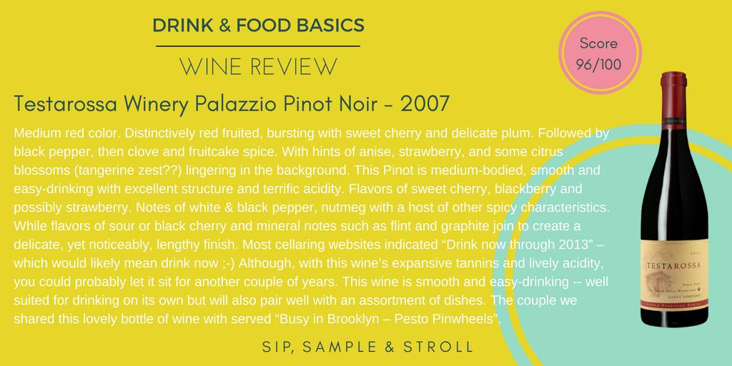 Testarossa Winery Pinot Noir