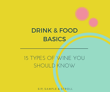 15 Types of Wine you Should Know