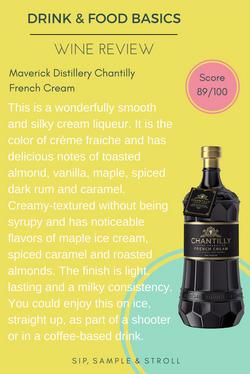 Maverick Distillery Chantilly French Cream