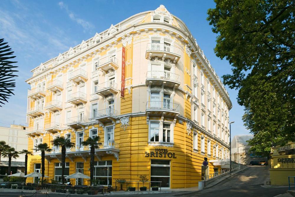 Art Nouveau style architecture - Opatiji - Croatia