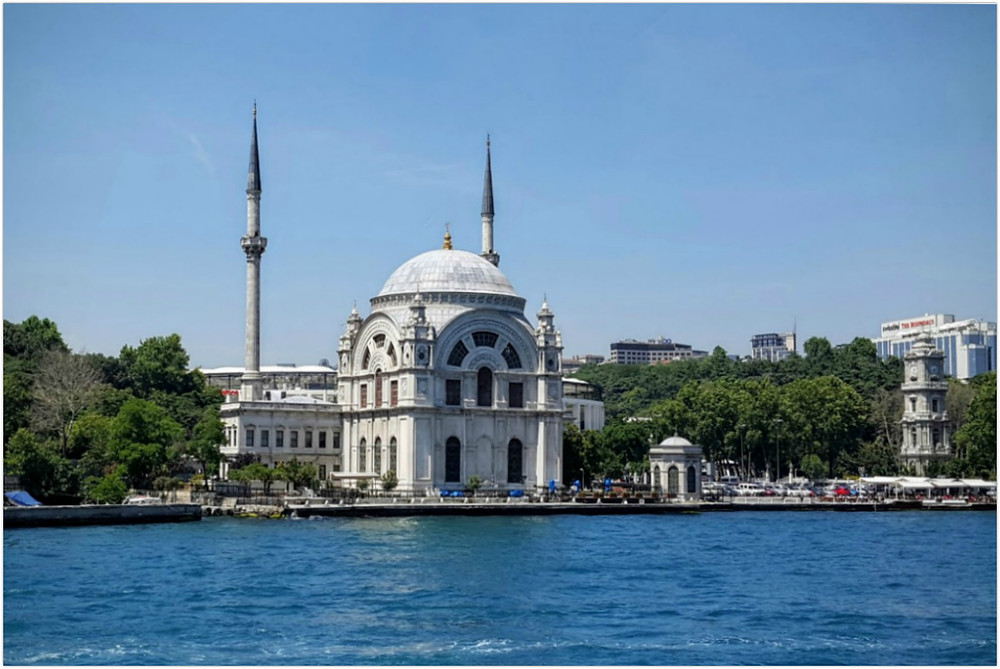 One of 2700 mosques in Istanbul - Turkey