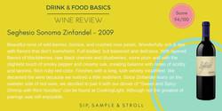 Seghesio Sonoma Zinfandel 2009 - Wine Review - Twitter