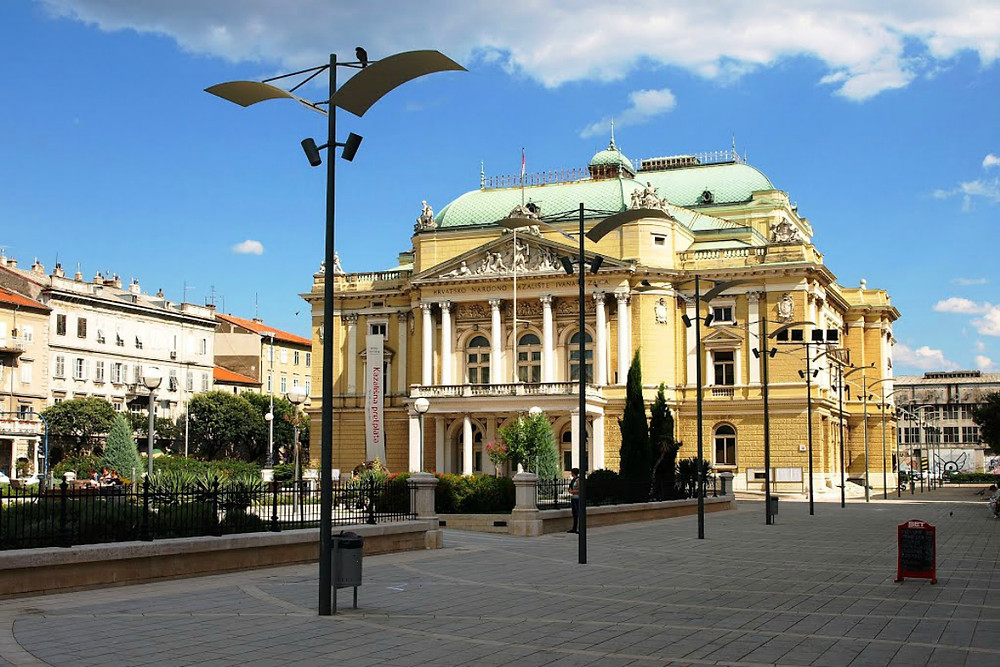 National Theatre - Rijeka - Croatia