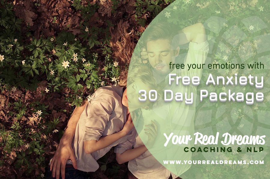 Free 30 Day Anxiety Package | Your Real Dreams
