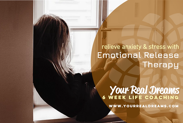 Emotional Release Therapy will help remove blocked emotions.