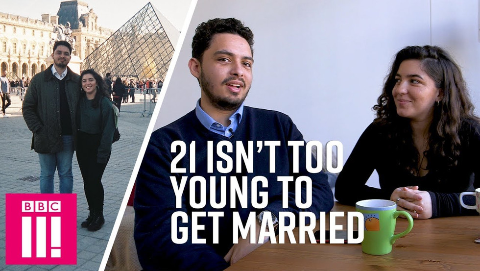 BBC3: WE WON'T REGRET MARRYING YOUNG