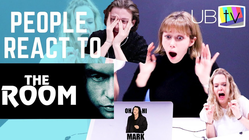 PEOPLE REACT TO THE ROOM
