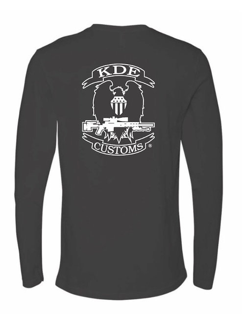 KDE Charcoal Beefy T Long Sleeve 2XL