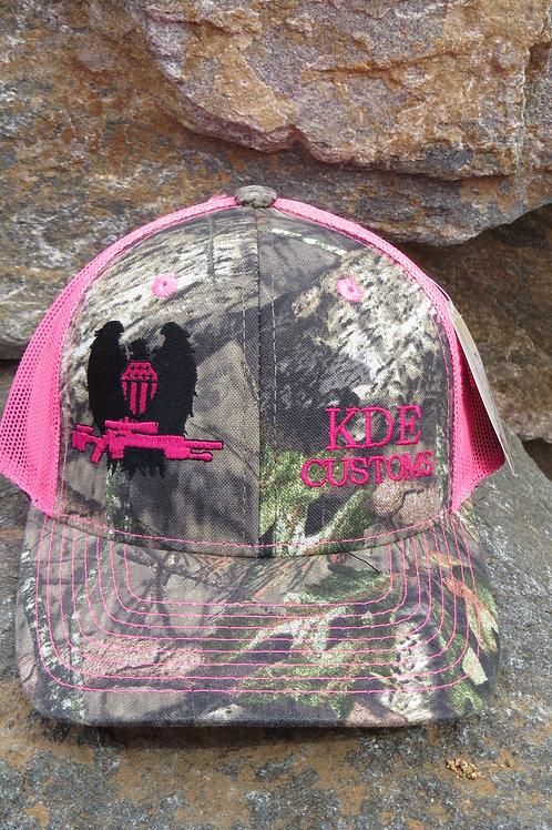 KDE Pink Mossy Oak Hat