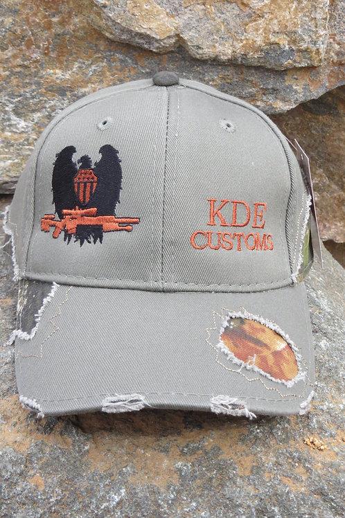 KDE Olive Drab Mossy Oak Hat