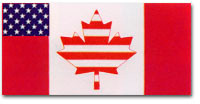 US Canada Flag