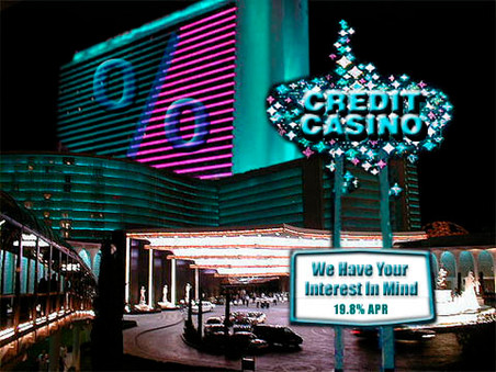 "New ""Credit Casino"" opens in Vegas!"