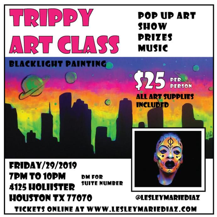 Trippy Art Class