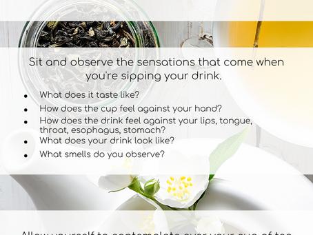 Sipping Tea Meditation