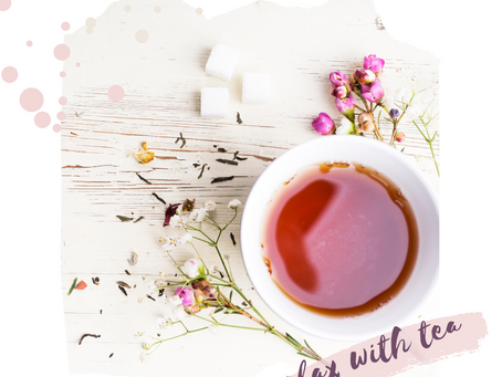 5 Teas for Reducing Stress + Anxiety