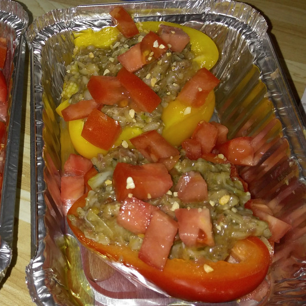 Non-traditional Stuffed Peppers