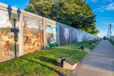 Flood Wall Murals Paducah