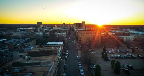 Downtown Paducah Sunset