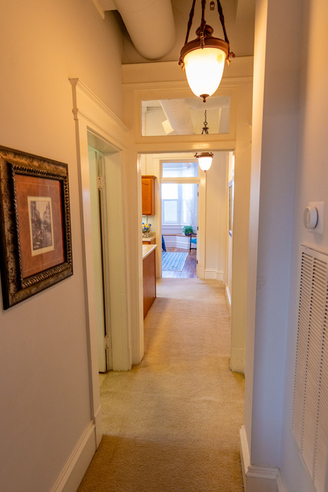 Main Hallway to Master Suite
