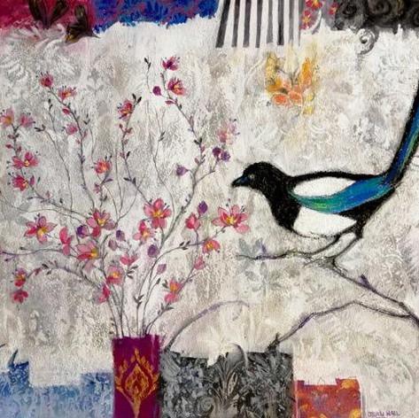 Blossom & A Magpie