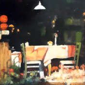 Study Summer - Sunlight, Cafe Krakow