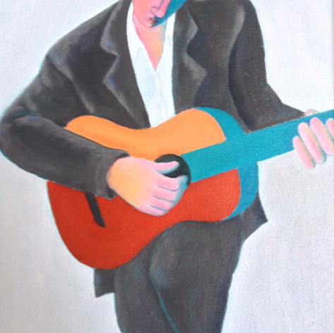 The Red Guitar