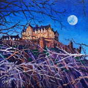Edinburgh Castle, Winter