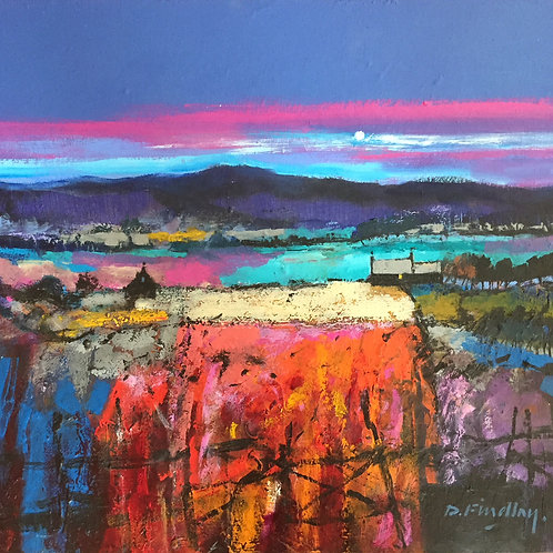 'Jewelled Fields' by Dugald Findlay
