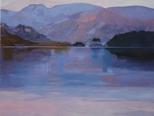 'Loch Morar Dusk' by Ann Armstrong